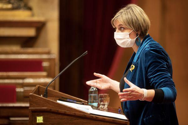 La ministre de la Santé de Catalogne Alba Vergés.