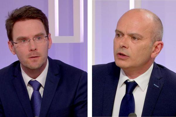 Nicolas Mayer-Rossignol et Jean-François Bures
