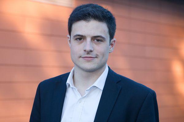 Maxime Thiébaut en mai 2017.