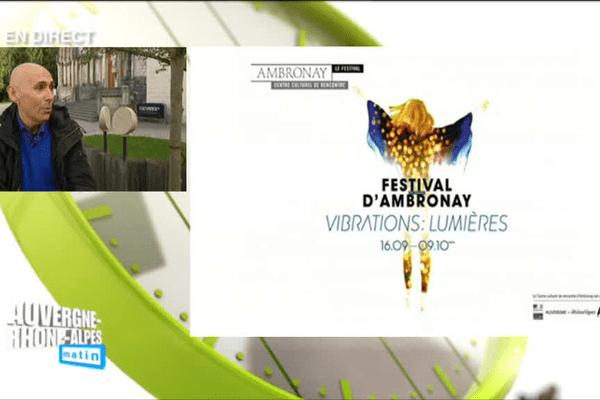 37e Festival d'Ambronay : Enrico Onofri, invité d'Auvergne Rhône-Alpes Matin