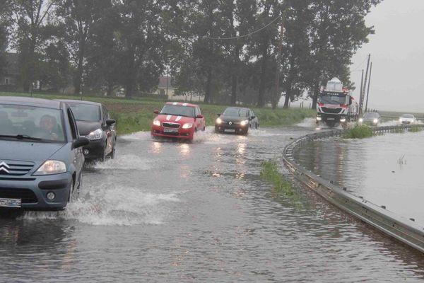 Inondations à Lorgies.