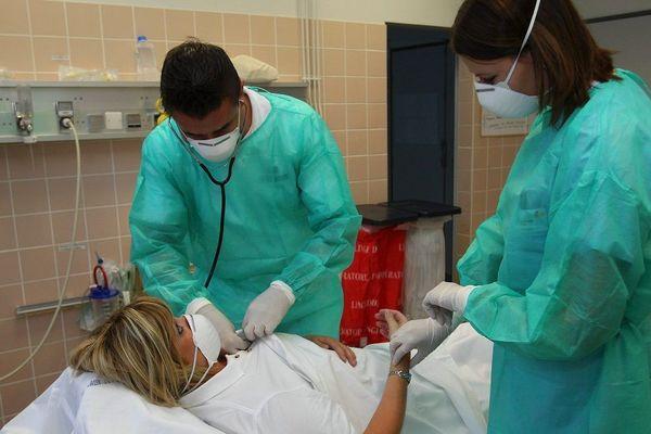 Le personnel soignant du CHU de Toulouse