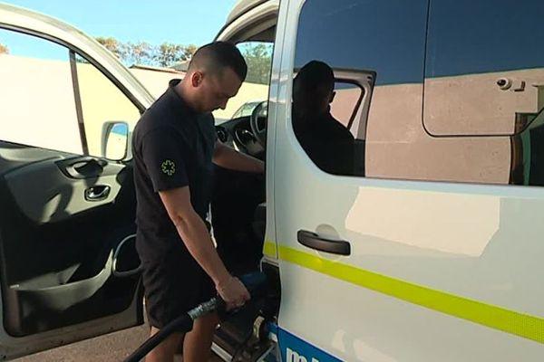 Dans l'Hérault, cette société d'ambulances est en danger. La raison : la hausse du prix du carburant.