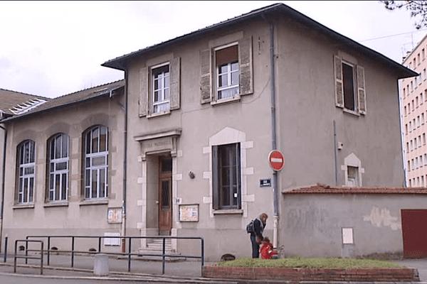 Lyon : l'école Ferdinand Buisson dans le quartier Saint-Just (5e)