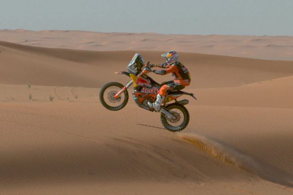 Frédéric Barlerin entame en 2021 son troisième Dakar.