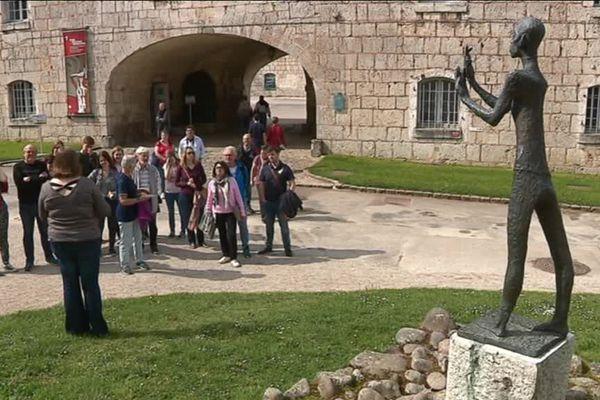 Le musée de la résistance et de la déportation est installé à la citadelle de Besançon.