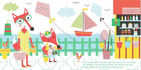 Petit renard part en vacances de Sophie Ledesma