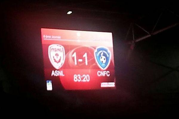 Le score final.