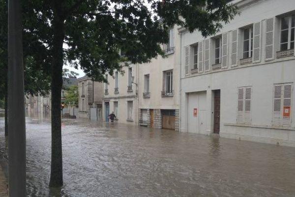 Intempéries dans le Loiret. Montargis est aussi sous les eaux.