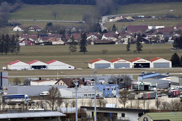 L'aérodrome de Pontarlier
