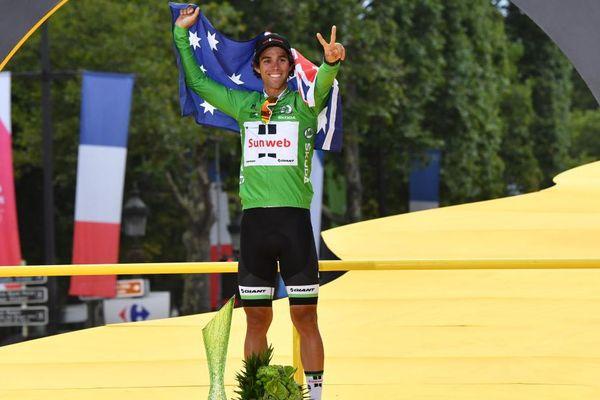 Michael Matthews a remporté le maillot vert en 2017