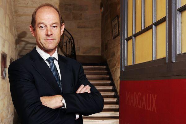 Allan Sichel, lors de son élection en tant que Président du Centre interprofessionnel du vin de Bordeaux - CIVB - le 21 juin 2016 -