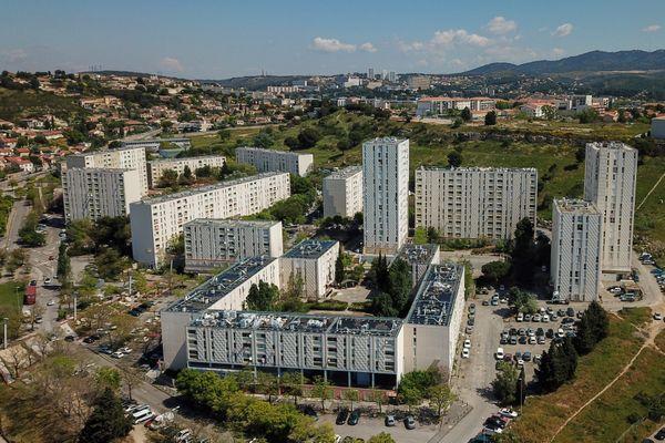 L'homme a été retrouvé mort dans la cage d'escalier d'un immeuble de la cité de la Bricarde (15ème arrondissement de Marseille)