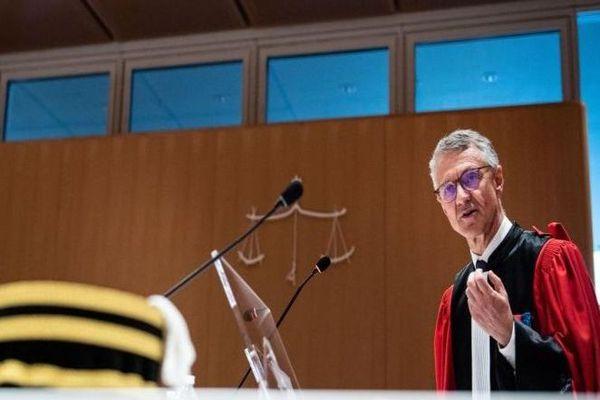 Jean-François Ricard, procureur au parquet national antiterroriste, le 3 juillet 2019, au tribunal de Paris.