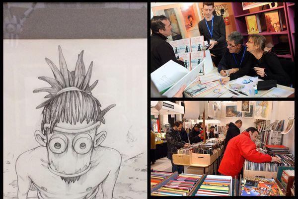 Le festival BD Boum, l'un des plus importants rassemblement de BD en France.