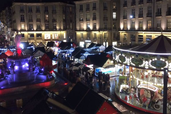 Le marché de Noël de Nantes, novembre 2019