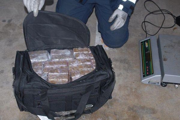 475 kg de résine de cannabis saisis par les douaniers de Poitiers