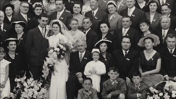 François Mitterrand, témoin du mariage de Micheline Rateau, fille de l'ancien maire de Moux-en-Morvan