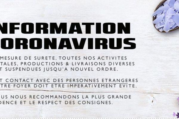 L'activité de Franck Bouis est à l'arrêt.