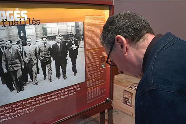 """Le musée de la résistance de Châteaubriant expose l'histoire des """"50 Otages"""""""