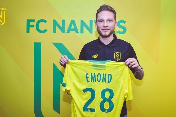 Renaud Emond a signé avec le FC Nantes jusqu'en 2022