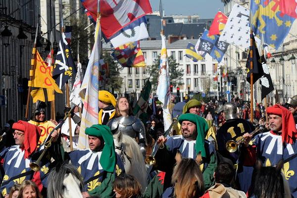 Fêtes de Jeanne d'Arc, 1er mai 2016 à Orléans