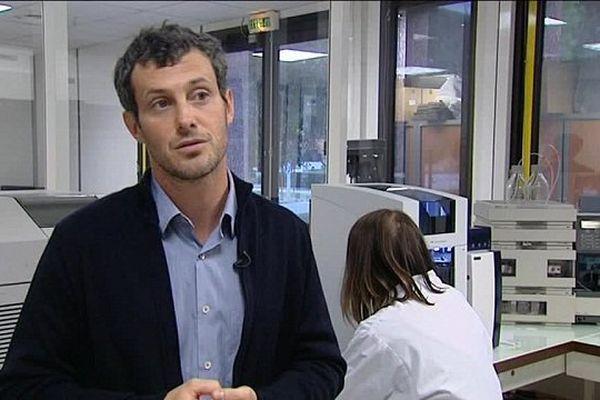 Aurélien Bancaud, chercheur en bio-technologie au CNRS