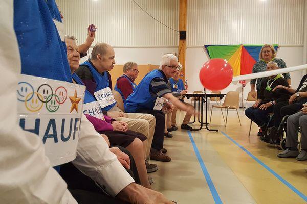 Olympiades inter EHPAD à Mortagne au Perche dans l'Orne