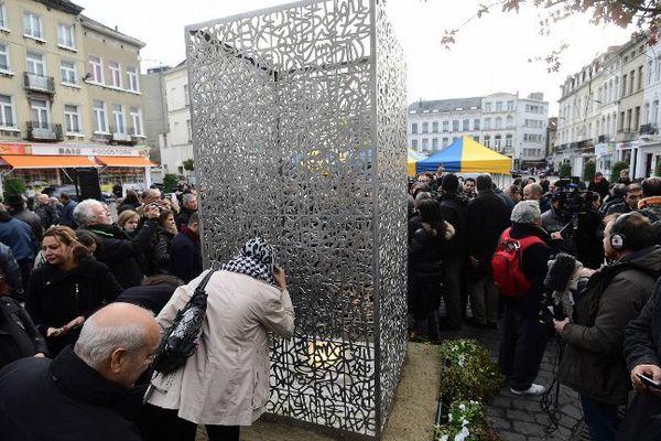 Ce lundi, à Molenbeek, commune de Bruxelles.