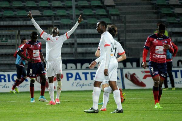 Nîmes s'est imposé 3-2 à Clermont lors de la 32ème journée de Ligue 2 - 7 avril 2017