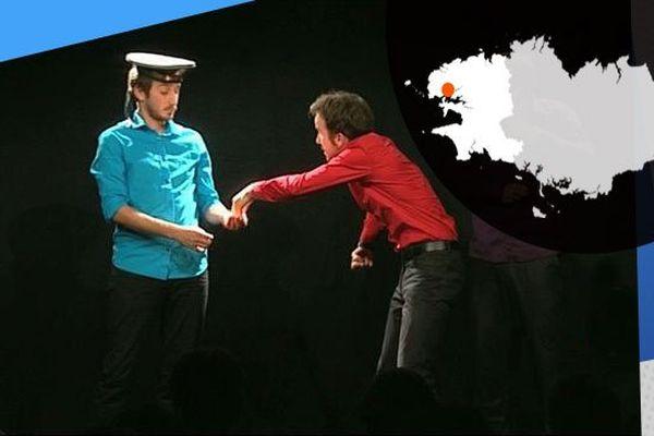Théâtre d'impro à Brest