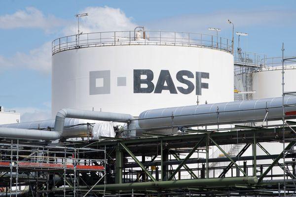 Un site BASF à Schwarzheide en Allemagne