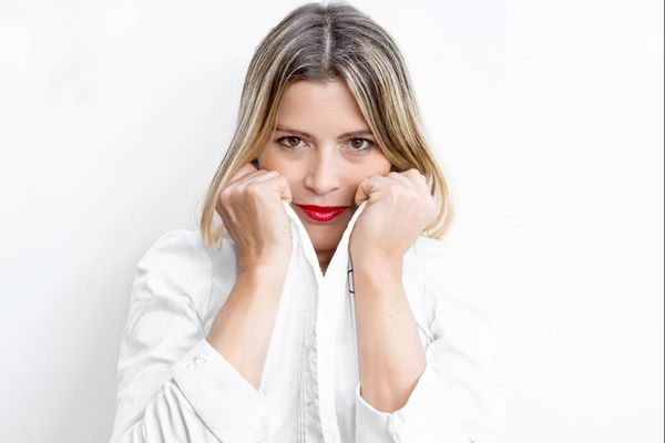 Claire Vallée, distinguée pour son restaurant vegan. Une étoile verte au guide Michelin, une première mondiale pour un établissement vegan.