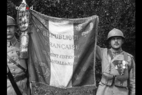 Archives: photo de 1917, soldats du RICM
