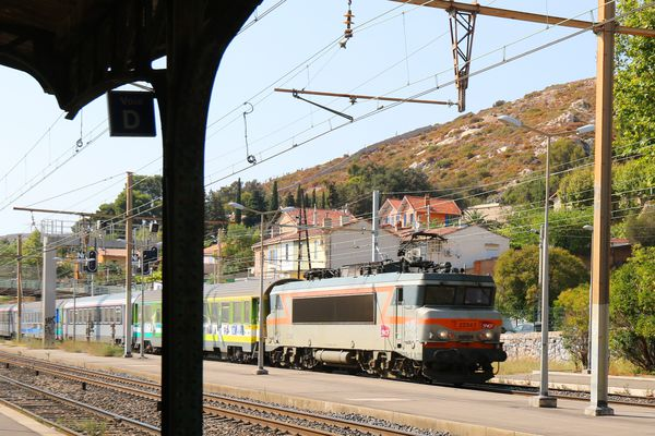La gare de l'Estaque à Marseille