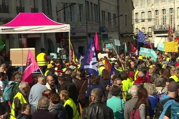 A Besançon comme ailleurs, la convergence des luttes est le mot d'ordre de la journée du 1er-Mai