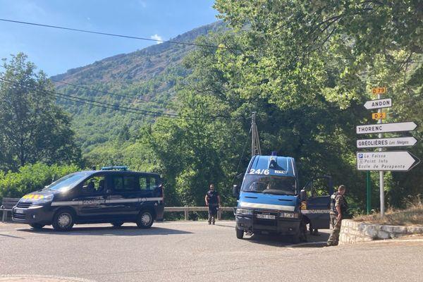 Les recherches des gendarmes sont terminées depuis que le corps sans vie de l'homme recherché a été découvert, mardi 20 juillet.