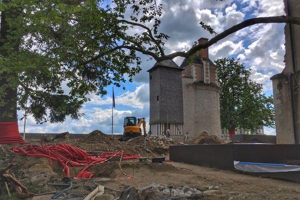 Le château de Blois créé de nouveaux jardins