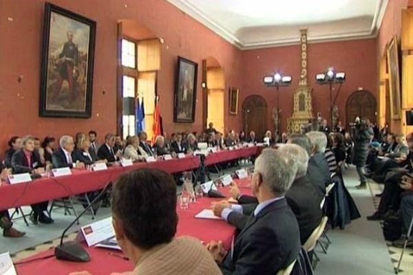 Castries (Hérault) - première réunion du Parlement des territoires- 25 mars 2015.