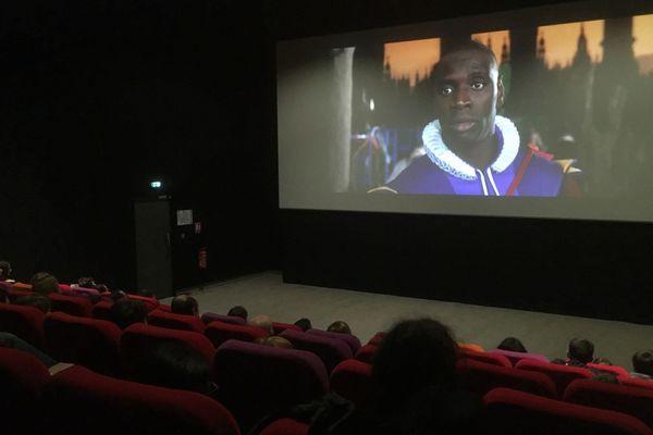 Dans une salle du cinéma Véo de Muret, près de Toulouse.
