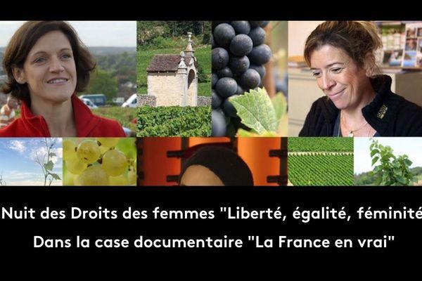 À partir de 23.00, France 3 Pays de la Loire vous proposera quatre films émouvants à la rencontre de femmes qui se battent sans relâche au quotidien pour faire exister et respecter leurs droits.