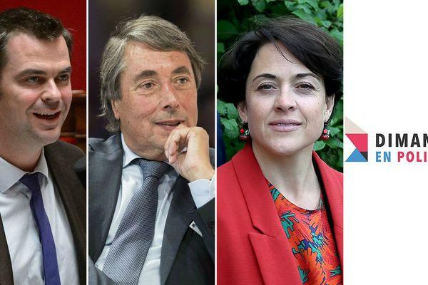 """Olivier Véran (EM), Michel Destot (PS) et Annabel André-Laurent (LR) seront les invités de """"Dimanche en Politique - Alpes"""" le 14 mai à 11h30."""