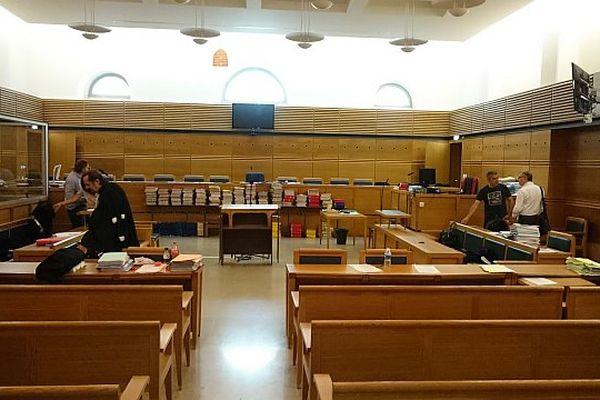 La cour d'assises des Bouches-du-Rhône.