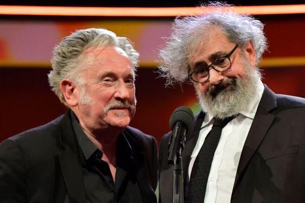Benoît Delépine et Gustave Kerven lors de la cérémonie de clôture de la Berlinale 2020, 70ème édition du festival international du film de Berlin, le 29 février 2020.