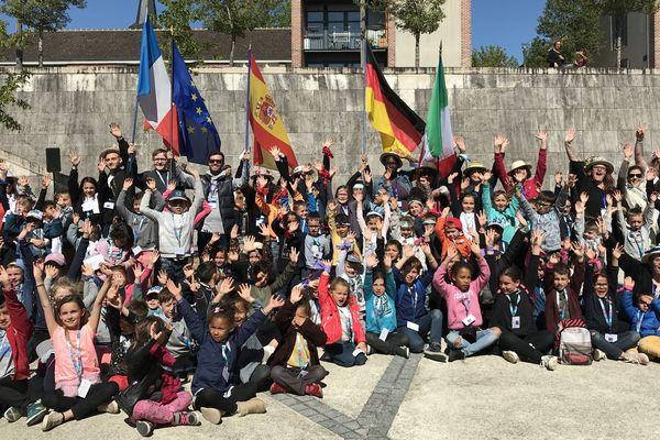 L'idéal européen à Amilly passe aussi et surtout par les jeunes générations.