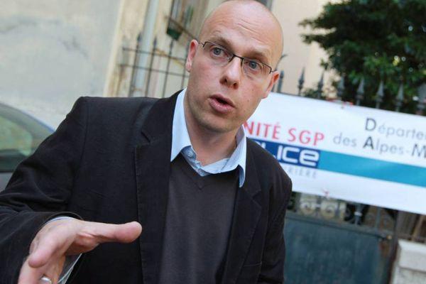 Laurent Martin de Frémont, secrétaire départemental unité SGP police 06