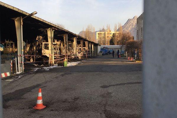 L'incendie d'un local d'Enedis à Seyssinet-Pariset a été revendiqué.