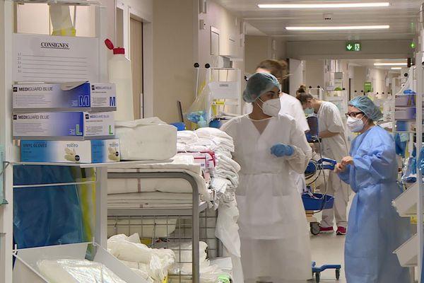 A Périgueux, le pic de l'épidémie devrait intervenir dans une semaine.