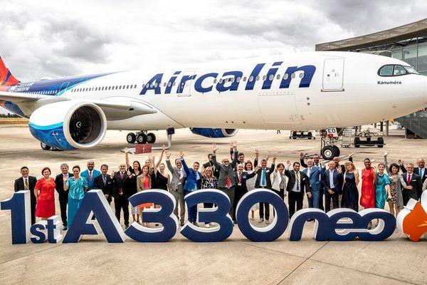 Le deuxième Airbus A 330neo de la compagnie Aircalin a été mis en service à l'aéroport de Tontouta (Nouvelle-Calédonie) le 4 octobre dernier.