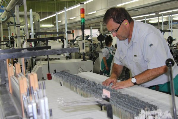 Atelier de TDV Industries à Laval